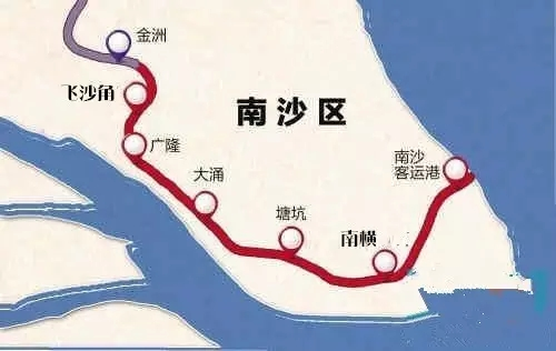 地铁四号线南延段南沙停车场项目建成